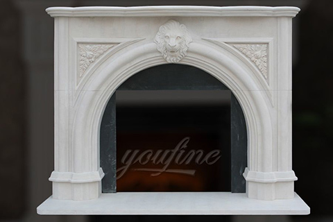 Decorative Victorian marble fireplace mantels for sale