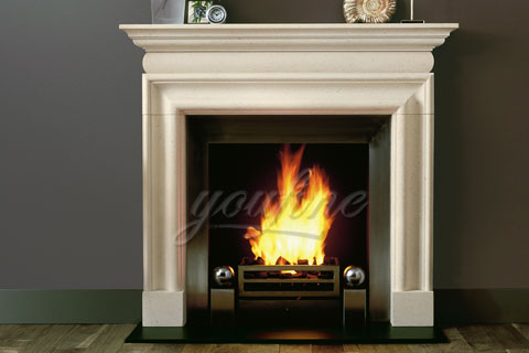 Decorative Georgian white marble fireplace mantels for sale