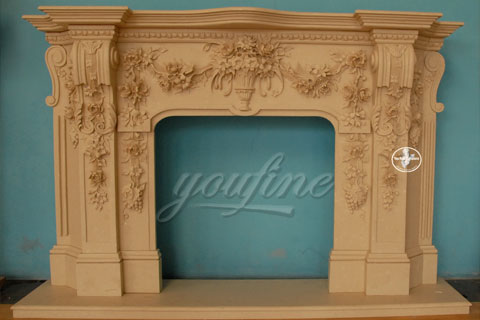 High quality decorative Regency  marble fireplace frame for sale